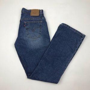 Vintage Levi's 515 Low Waist Boot Cut Jeans